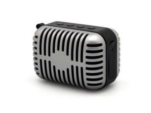 Parlante portátil Elvis. Gorsh.com, $595