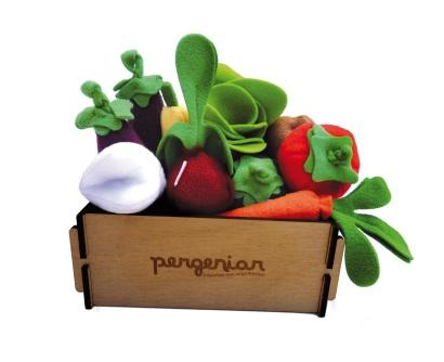 Cajón de verduras, $480
